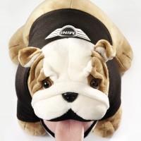 MINI - Bulldog Soft Toy