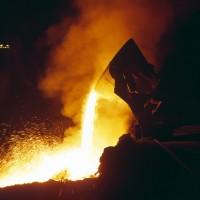 Stahlschmelze / Industriefotografie