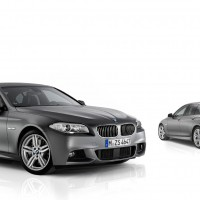 BMW - 5er Gruppe Mattlack grau