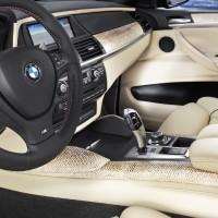 BMW - X6 M Innenraum 1 Lachshaut Leder