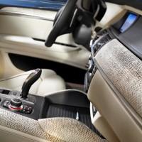 BMW - X6 M Innenraum 2 Lachshaut Leder