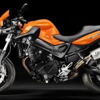 BMW - Motorrad F800R Hosemaster Licht auf schwarz