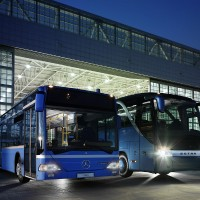 EvoBus - Flughafen Hangar