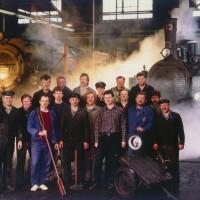 Sortimo - Impressionen Stahlwerk Dampflok Reparatur Team