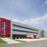 LKW-Anlieferung / Industriefotografie