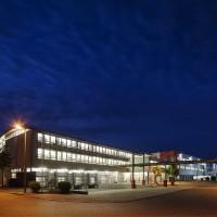 Ratioform - Gebäude Nachtaufnahme