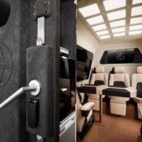 Alpha Armouring - Mercedes Sprinter gepanzert Innenraum