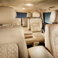 Alpha Armouring - Toyota Innenraum Sitze