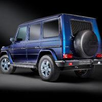 Alpha Armouring - Mercedes G-Model blau Sonderlack