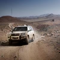 Alpha Armouring - Toyota Wüstenmontage
