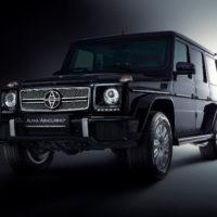 Alpha Armouring - Mercedes G-Model schwarz