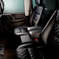 Alpha Armouring - Mercedes G-Model Innenraum