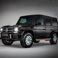 Alpha Armouring - Mercedes G-Model auf Grau