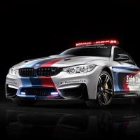 BMW M4 Safety Car schräg vorne