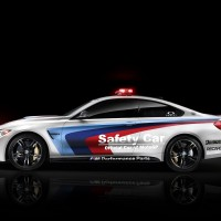 BMW M4 Safety Car seite