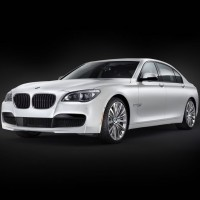 BMW 7er weiss
