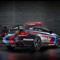 BMW_M4_SafetyCar_2015_Schwarz_Heck_Seitlich