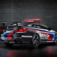 BMW_M4_SafetyCar_2015_Schwarz_Heck_Seitlich_A4