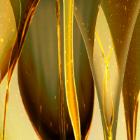 fließendes Öl
