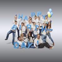 Zum 20 jährigen Jubiläum der M-net GmbH wurden 3 Varianten Happy Birthday realisiert.