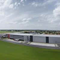 Ratioform - Europazentrale neue Halle Luftaufnahme